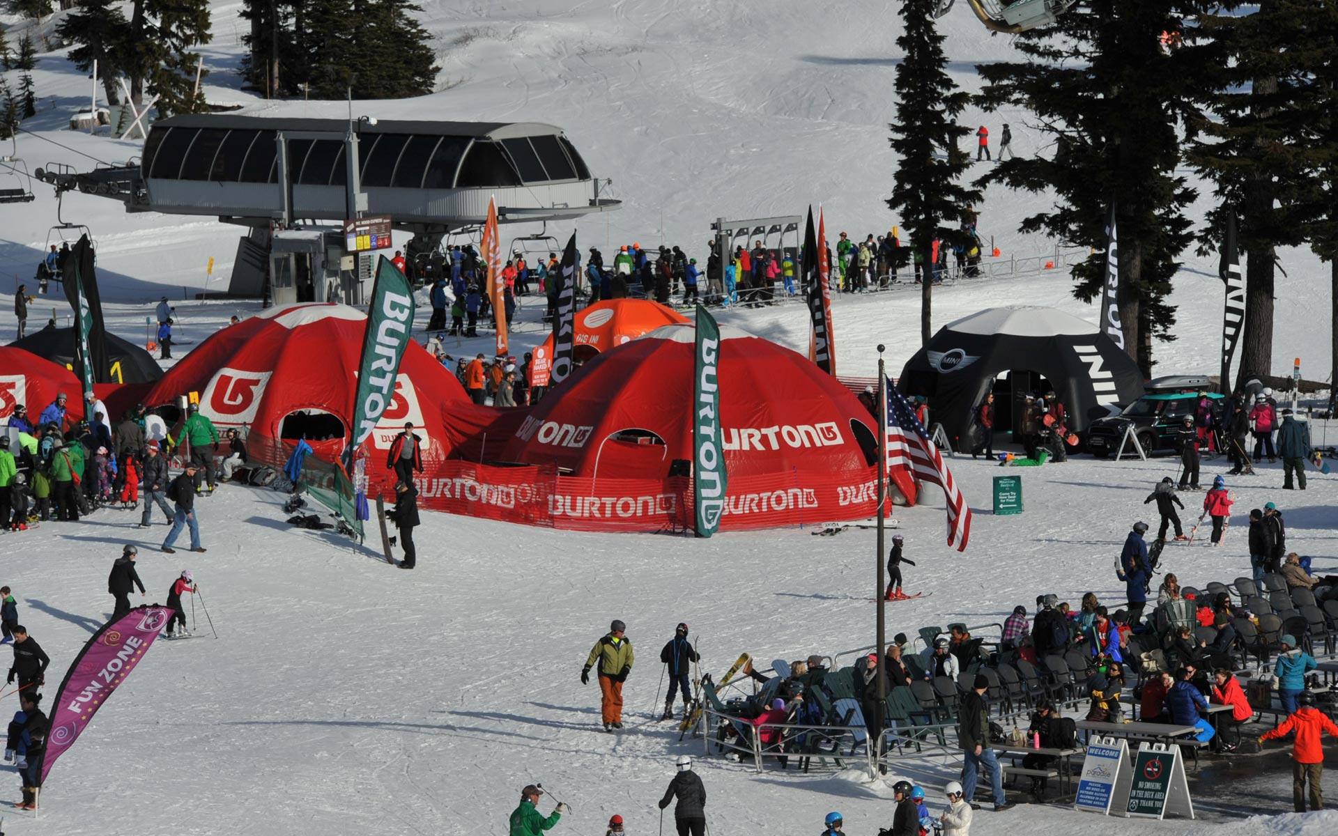The Burton Mt. Festival at Mt. Hood Meadows